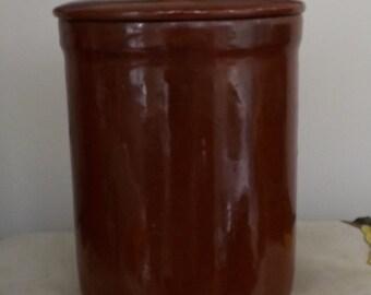 Medalta Pottery Crock 1930s [L28]