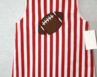 Baby Girl Football Outfit | Baby Girl Football Dress | Baby Girl Clothes | Toddler Football Outfit | Baby Girl Football Clothes 291938