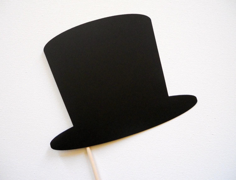 chapeau haut de forme photo booth prop chapeau photo booth. Black Bedroom Furniture Sets. Home Design Ideas