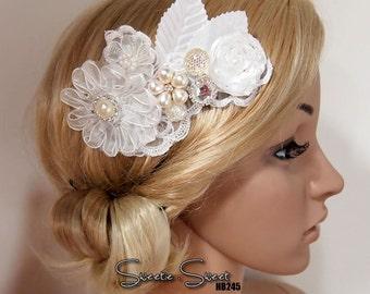 Bridal Hair Comb, Wedding Hair Comb, bridal Fascinator, Wedding Fascinator, Bridal Head piece, Wedding Hair Accessories HB245
