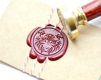 B20 Wax Seal Stamp Animal Tiger Tattoo