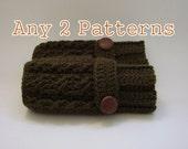 Any 2 Right Brain Crochet PDF Crochet Patterns