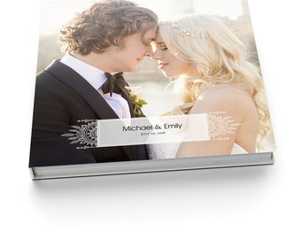 Album Template - 12x12 Wedding Album for Pro Photographers - BOHEMIAN LACE - 1312