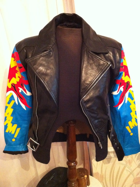 Michael Hoban North Beach leather jacket Wham