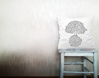 Love tree pillows decorative throw pillows tree of life pillows woodland throw pillows Christmas pillow farmhouse pillow 24x24 inches pillow
