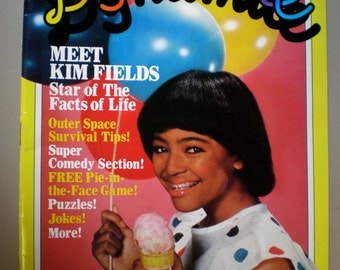 1983 Facts of Life Dynamite Magazine #108  For the 1980s Kid Meet Kim Fields MINT CONDITION