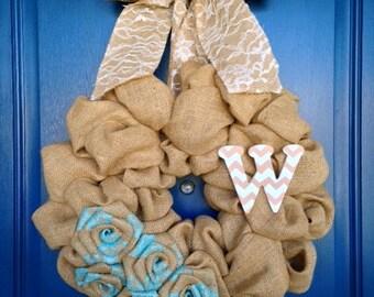 """18"""" DIY Wreath Kit/ Burlap Bubble Wreath Kit"""