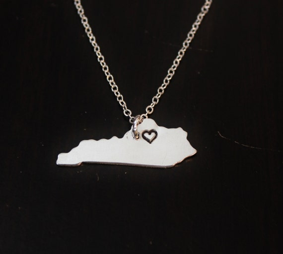 kentucky state necklace city state necklace ky necklace