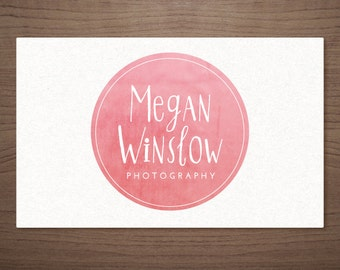 Premade Logo Design for Photographers - Girly Emblem - Photography Boutique Wedding Small Business
