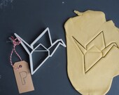 Origami crane cookie cutter LARGE, 3D printed