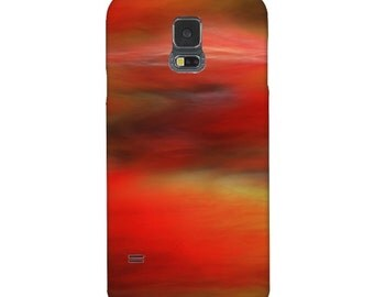 Smartphone Case Abstract May I - for iPhone iPod  Samsung Blackberry HTC  Photography red black yellow  art