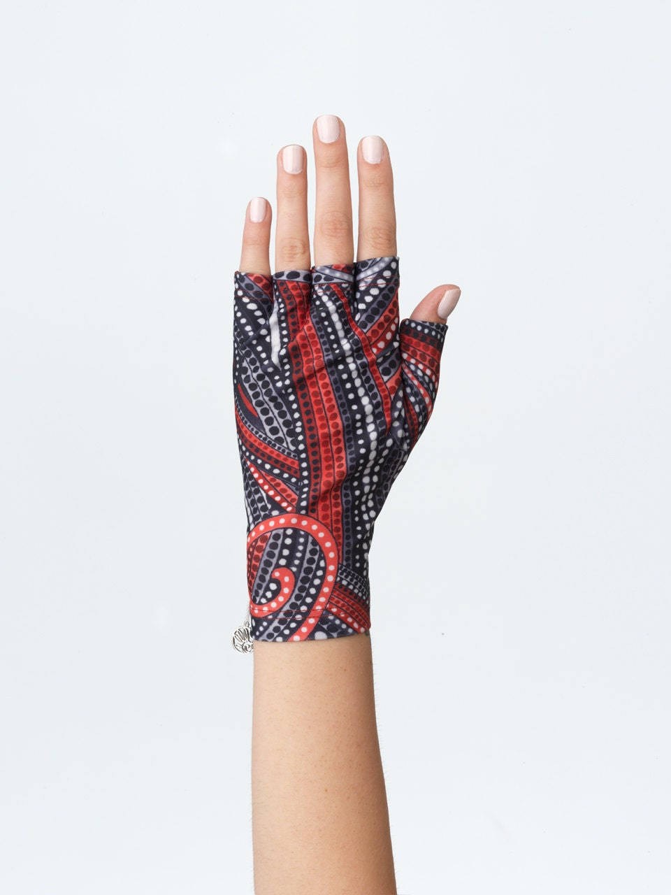 Sun Protection Fingerless Gloves