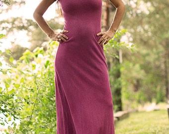 Milkweed layering maxi dress