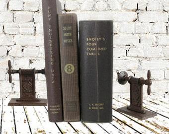 Burgundy Book Bundle ~ Vintage Engineering & Math Books