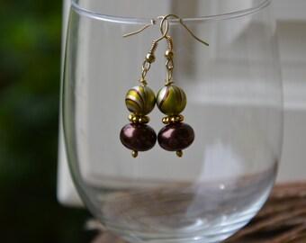 Modish Swirl Earrings