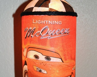 DISNEY CARS  lamp, a great additon to your child's room decor! Nighlight for comfort.