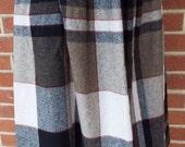 Vintage Plaid Skirt by Ma...