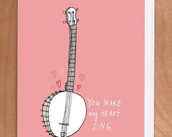 HEART SING Card (2-8C)