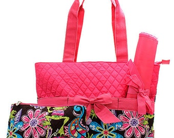 Quilted Diaper Bags - 8 designs