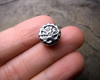 White Tree of Life Charm, Family Charm, Tree Charm, Bracelet Charm, European Charm Bead, Pugster Charm