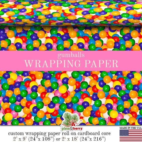 order custom wrapping paper