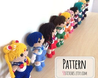 Popular items for sailor mini moon on Etsy