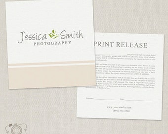 Photography Print Release 003 - Business Forms- C140, INSTANT DOWNLOAD