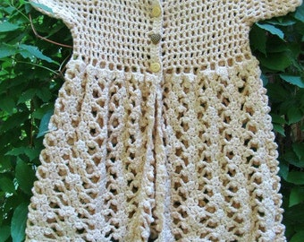 Revamped Vintage Crocheted Child Top