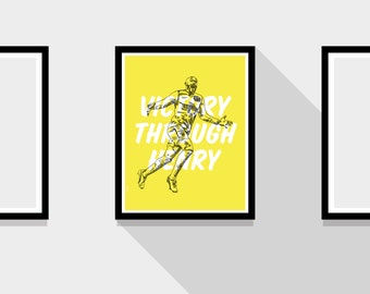Thierry Henry Arsenal FC Motto Football Print