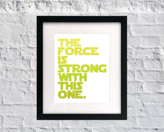 Star Wars baby nursery wall art