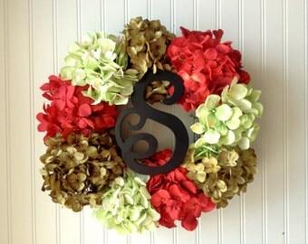 christmas wreath, door wreath, wreath for christmas, christmas decor, xmas wreath, monogram wreath, wreath for door, door wreath, wreath