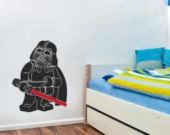 LEGO star wars, DARTH VADER wall art sticker