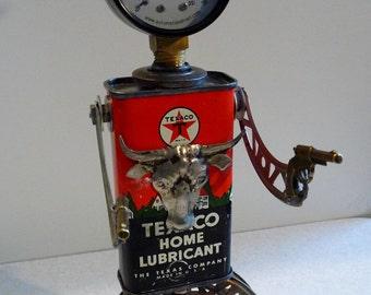 Tex - Found Object Assemblage Joysun Robot Sculpture