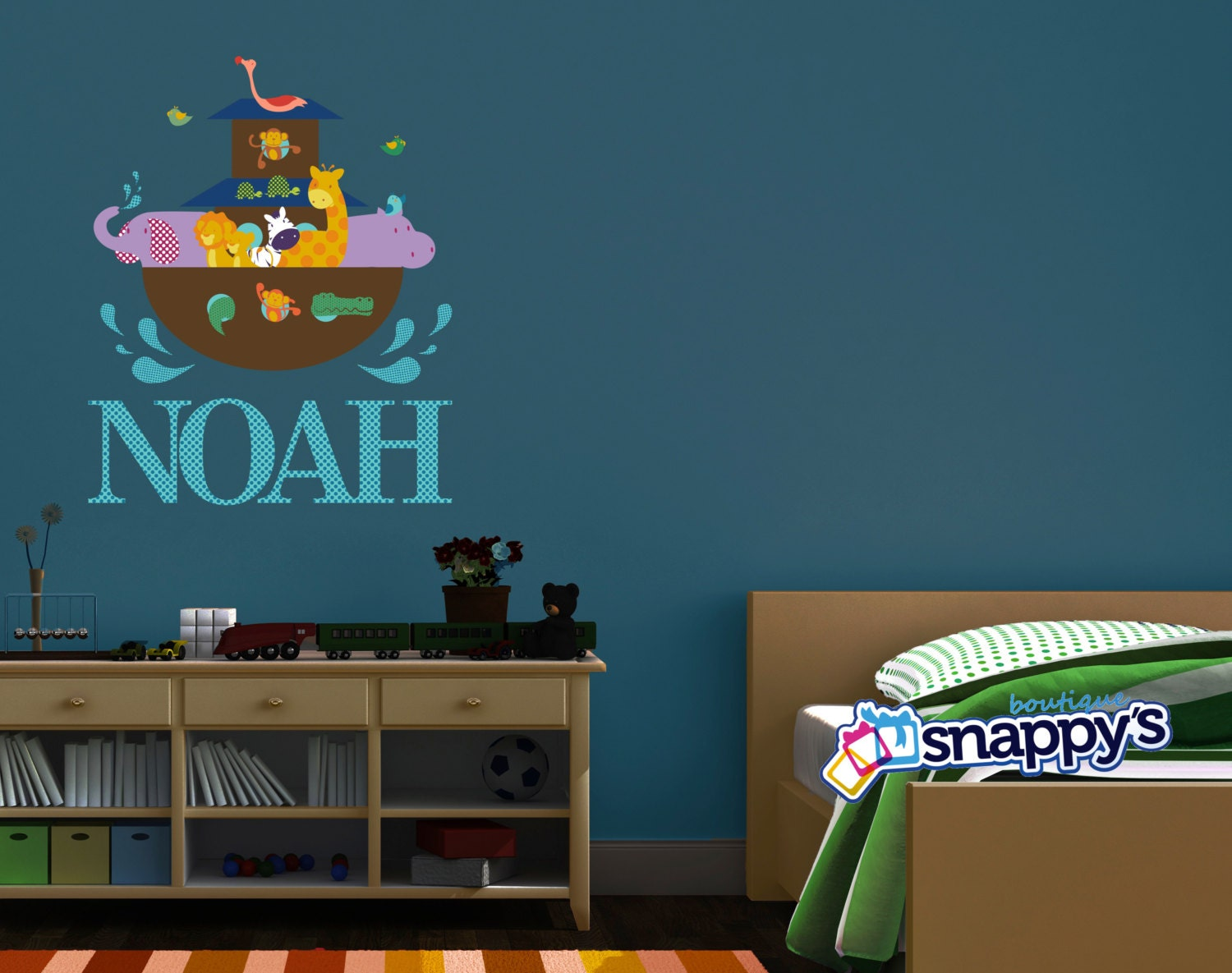 Noahu0027s Ark Wall Decal