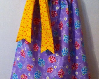 Ladybug Pillowcase  Dress