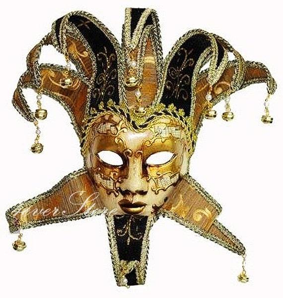 Jester Full Face Musical Men Venetian Wall Decoration ...
