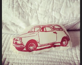 Pillow/ Softie- Fiat 500 Cinquecento