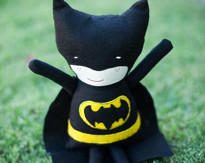 "Batman 19"" Fabric Rag Doll"
