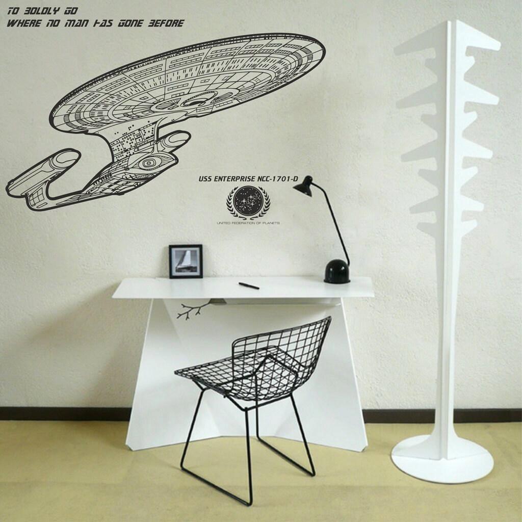 scifi art inspired by star trek uss enterprise ncc 1701 d zoom