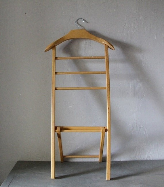 vintage valet stand clothes rail