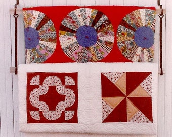 Wall Quilt Display,Starter Pair,Blacksmith Hooks,Wooden Bars,quilts,textiles,throws,storage,quilt hanger,quilt rack,lap quilts,afghan,gift