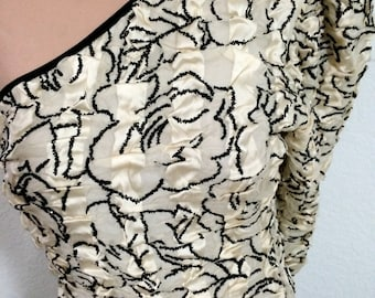 FREE SHIPPING 1980's Unbelievable Designer Gown by Raggi