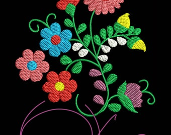 MACHINE EMBROIDERY FILE - Mexican design