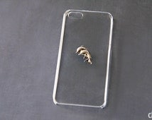 Dolphin iPhone Case Clear iPhone 5 Case iPhone5 Cases iPhone 6 Transparent iPhone Case Galaxy S3 Case Samsung Galaxy S4 Case iPhone 6 Plus
