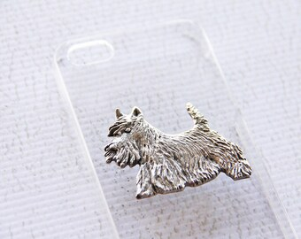Scottish Terrier iPhone Case, Samsung Galaxy S3 S4 S5 Scottie Cases, Scottie Dog, Phone Covers, Skye Terrier, Clear Phone Case, Transparent