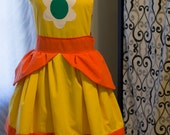 Super Mario Bros Princess Daisy Apron
