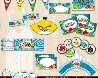 Angry Birds Printable Bundle Package
