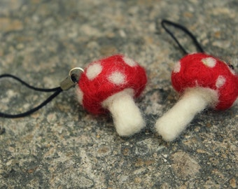 Needle Felt Toadstool (Made to Order)