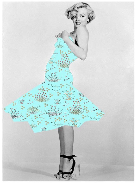 Little Blue Dress , Download, Etsy shop The Scrapettes