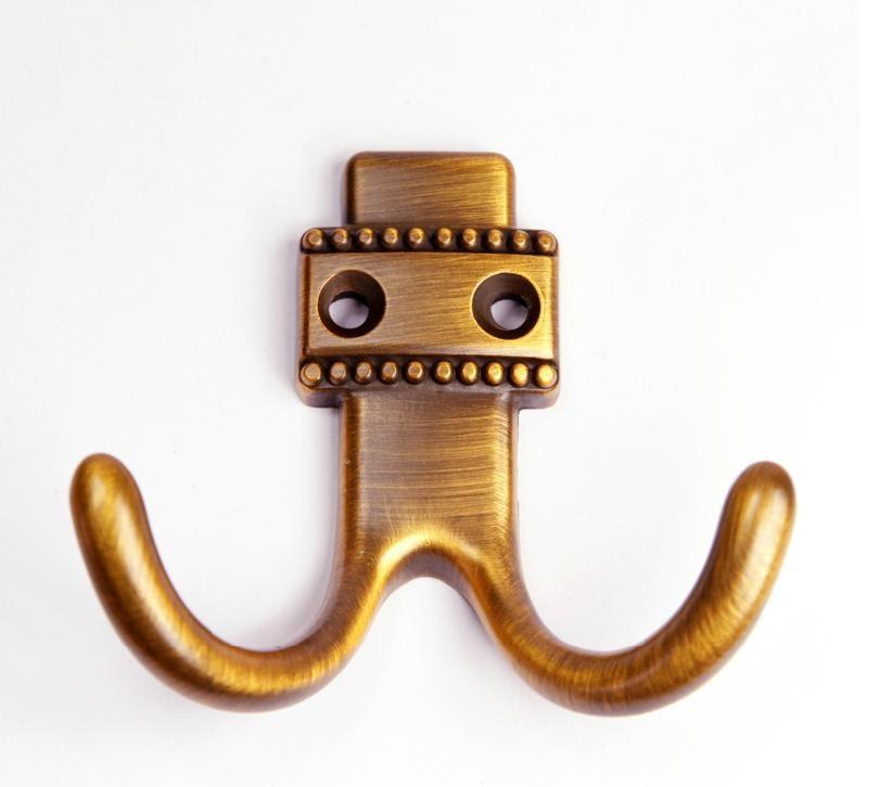 Metal Hook Decorative Hooks Wall Hooks Antique Brass Metal